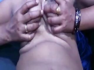 Newly Wed Wife Fingering Pussy Squeezing Boobs