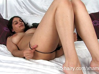 Super Hairy Indian Girl Rani Masturbates