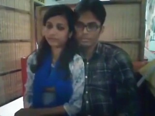 Bangladeshi Bf& Gf In Restaurant 2-full On Hotcamgirls . In